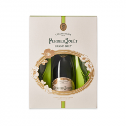 V8 - Coffret Perrier Jouët grand brut