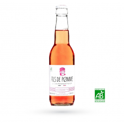 P17 - Cidre rosé bio « Fils de pomme - La Coquette» - 33 cl