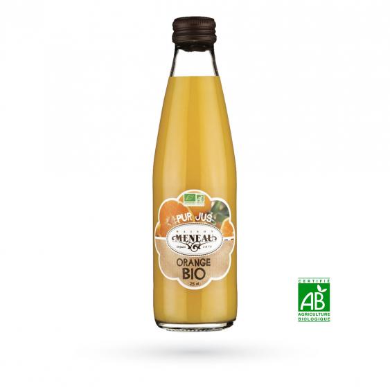 "O15 - Jus d'orange Bio ""Maison Meneau"" - 0,75 L"