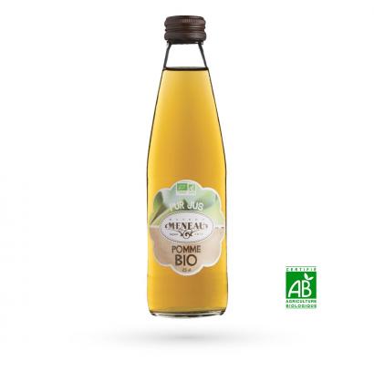 """O16 - Jus de pommes Bio """"Maison Meneau"""" - 0,75 L"""