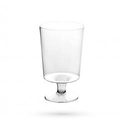 R3 - Lot de 10 verres à pied jetables - 17cl