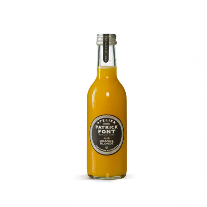 O17 - Jus d'orange blonde de Sicile - Patrick Font - Fabrication Artisanale - 1L