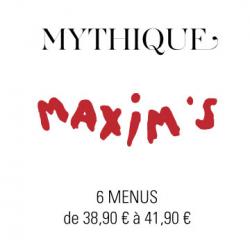 Livraison plateaux repas à Paris - Maxim's