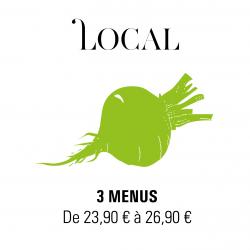 Livraison plateaux repas à Paris - Le Local en Scène