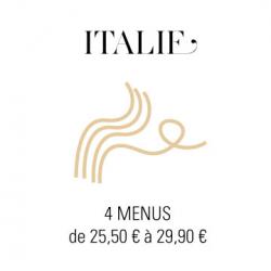 Livraison plateaux repas à Paris - Italie