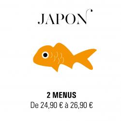 Livraison plateaux repas à Paris - Japon